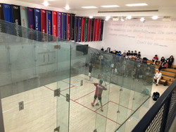 USSquash Middle School Nationals at Yale 2018.