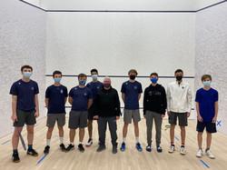 Westport Boys Varsity squash team 2020/2