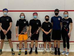 Fairfield JV Boys squash team 2020/2021