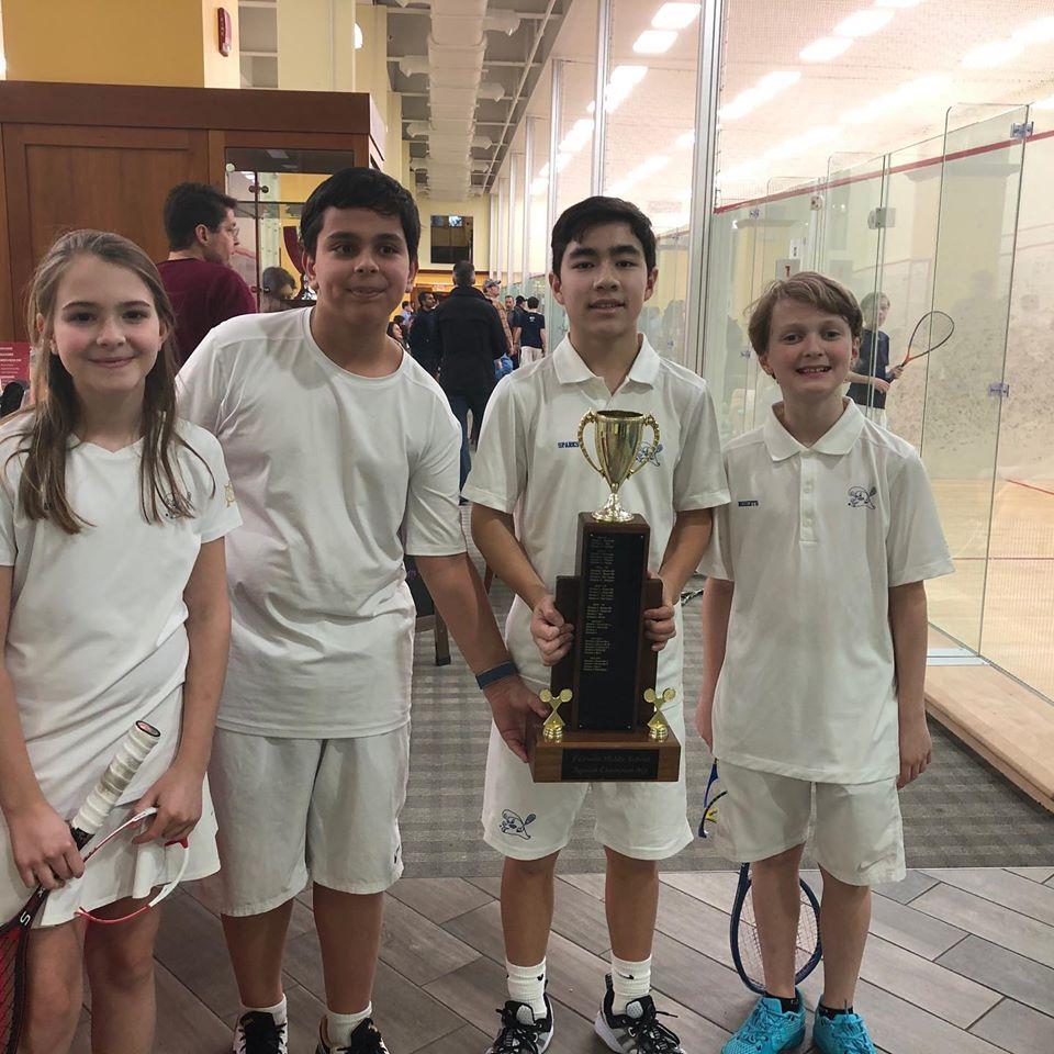 Darien Middle school team at FairWest Jamboree