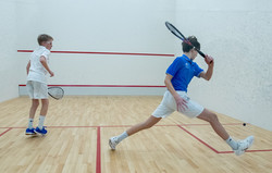 Darien vs Bronxville Varsity squash match 2019/20 season