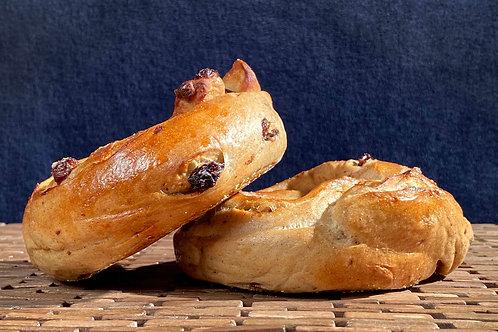Cinnamon/Raisin Bagels - Sunday, August 8th
