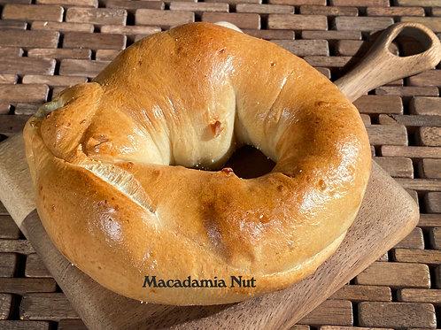 Hawaiian Macadamia Nuts Infused in Kansas Plains Bagel