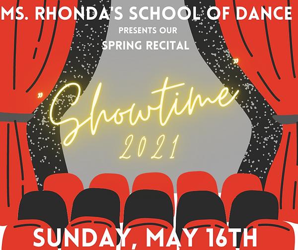 Ms. Rhonda's School of Dance presents ou