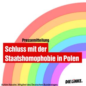 Schluss mit der Staatshomophobie in Polen
