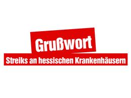 Grußwort zum Krankenhausstreik in Fulda