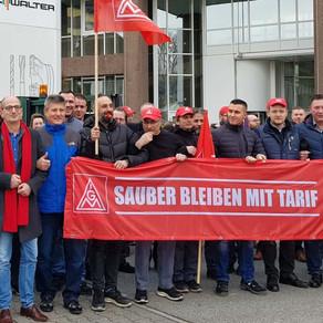 Keine Schließung von Walter-Tools in Frankfurt-Rödelheim