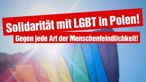 Solidarität mit LGBT in Polen gegen Osteuropafeindlichkeit