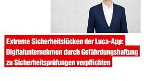 Extreme Sicherheitslücken der Luca-App