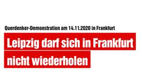 Leipzig darf sich in Frankfurt nicht wiederholen