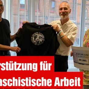 Unterstützung für antifaschistische Arbeit durch DIE LINKE. im Deutschen Bundestag