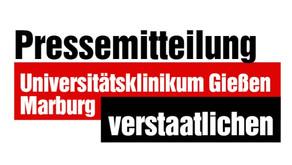 Universitätsklinikum Gießen und Marburg verstaatlichen