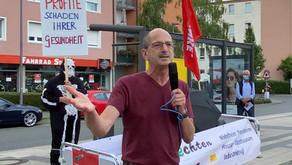 Bewerbung um die Direktkandidatur zur Bundestagswahl der Partei DIE LINKE. Kreisverband Frankfurt