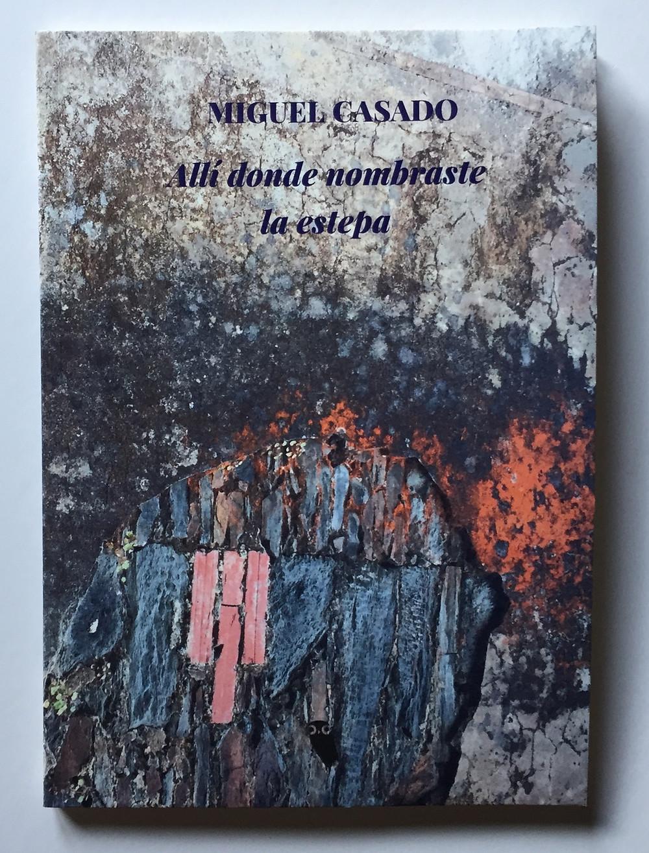Allí donde nombraste la estepa, de Miguel Casado, Mochuelo Libros