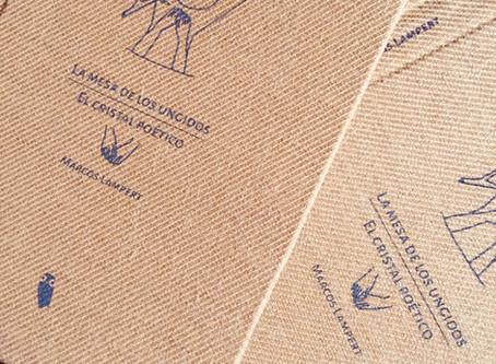 Nueva edición artesanal de Mochuelo Libros: La mesa de los ungidos y El cristal poético (Marcos Lamp