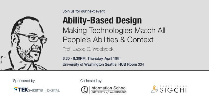 Ability-Based Design- Making Technologies Match All People's Abilities & Context