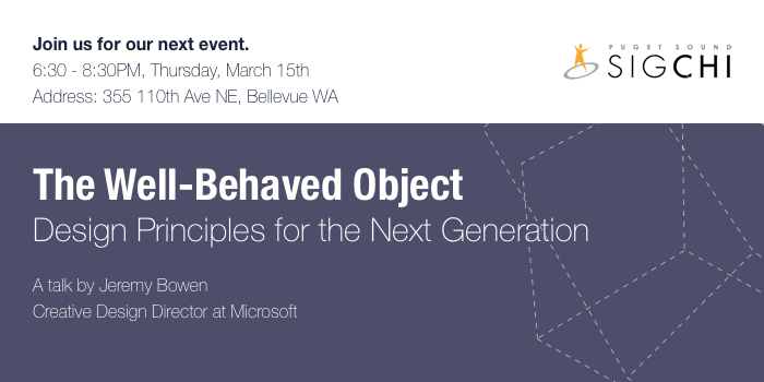 The Well-Behaved Object- Design Principles for the Next Generation