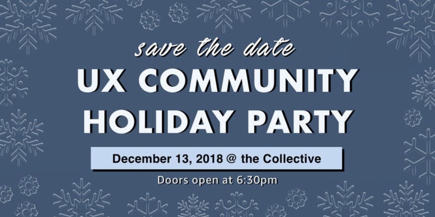 UX Community Holiday Party