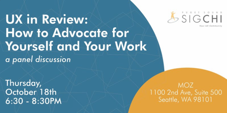 UX in Review- How to Advocate for Yourself and Your Work