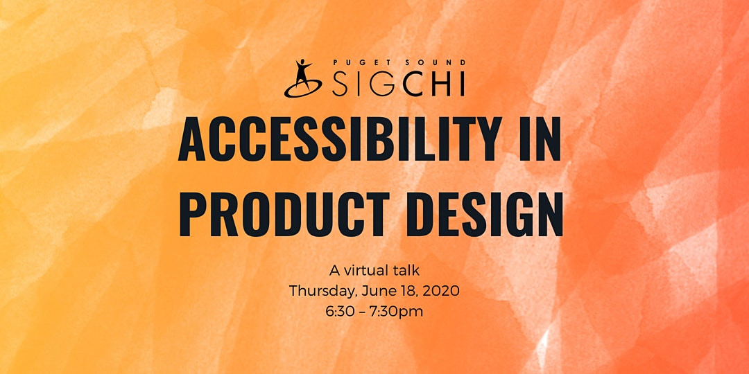 Accessibility in product design