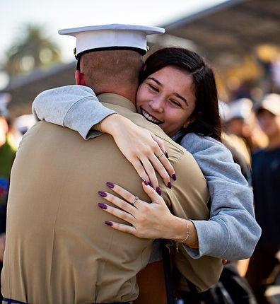 New Marine and Girl on Grad.jpg