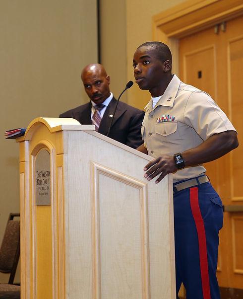 100 Black Men Event from Lance Cpl. Jess