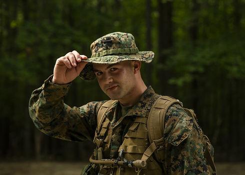 Male TBS Lt on Land Nav from LCpl Sarah