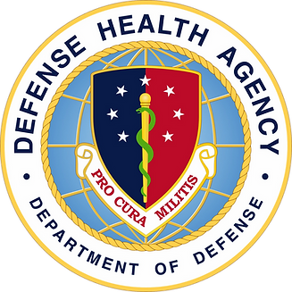US Defense Health Agency seal DHA from W