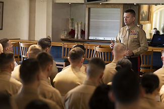 OSO Meeting from Lance Cpl. Zachary Beat