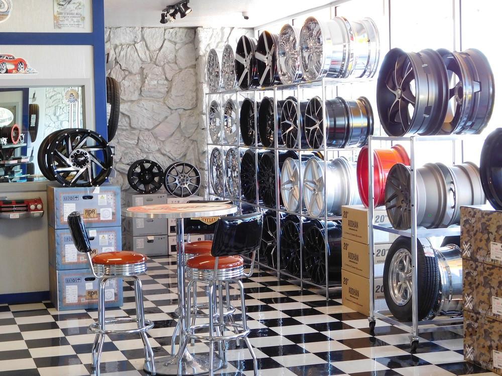 Wheel Wall