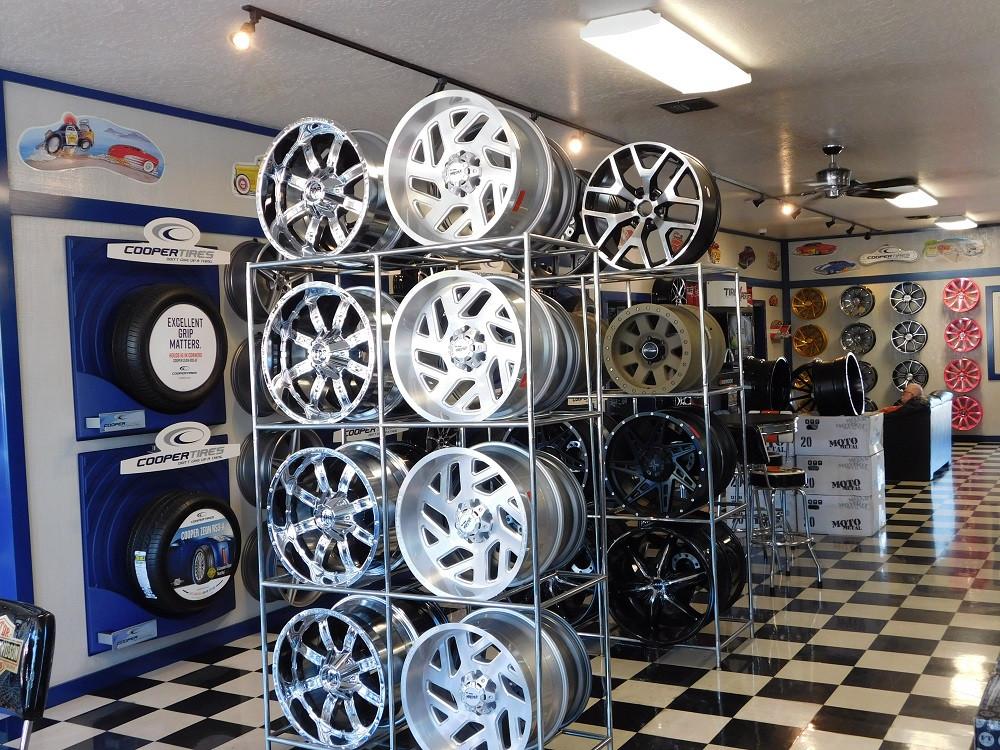 Wheel Rack