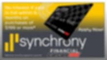 Synchrony Finance - Apply Now  Image. Please click for details and to apply for credit.