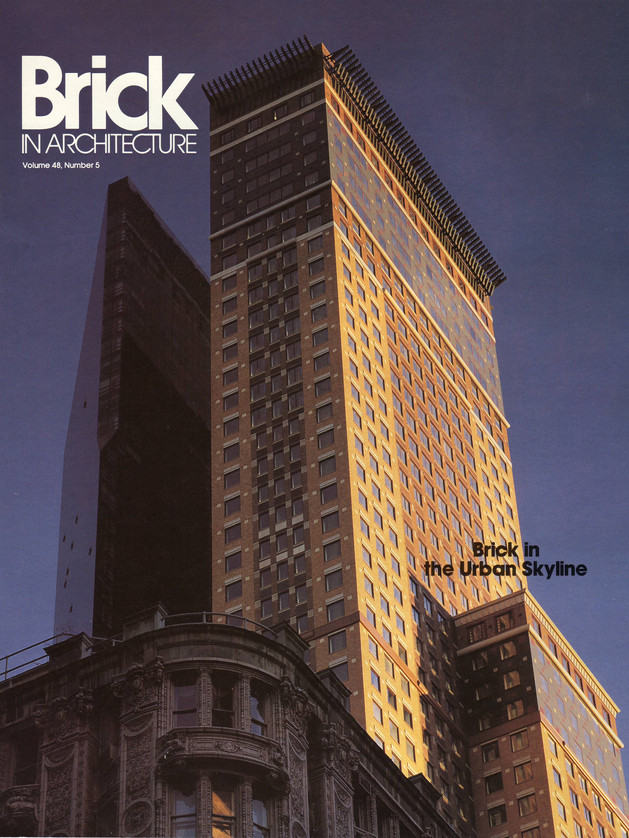 Richard Kotz | Brick In Architecture