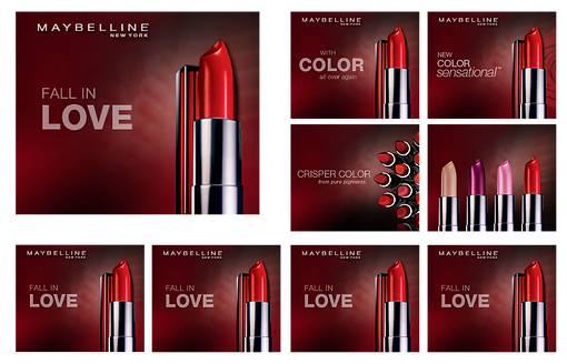 Personal care, package design, logo design, maybelline, avon, l'Oreal