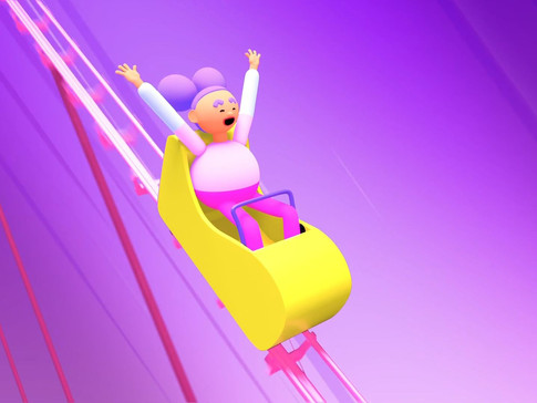 Hop on and try our roller coaster ride