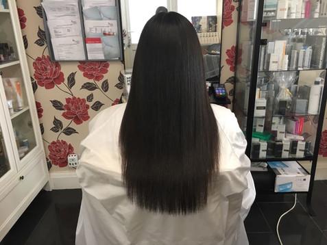 How is Yuko hair straightening different from Brazilian/Keratin treatments?