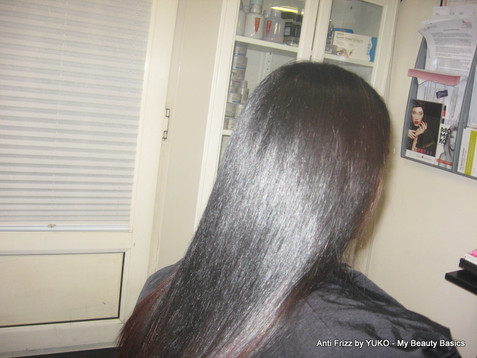 What results can be expected from Yuko Anti-Frizz treatment?