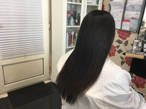 Why permanently straighten hair?
