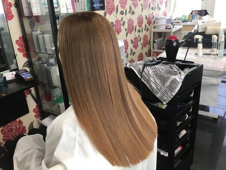 Q: How long does Yuko hair straightening last?