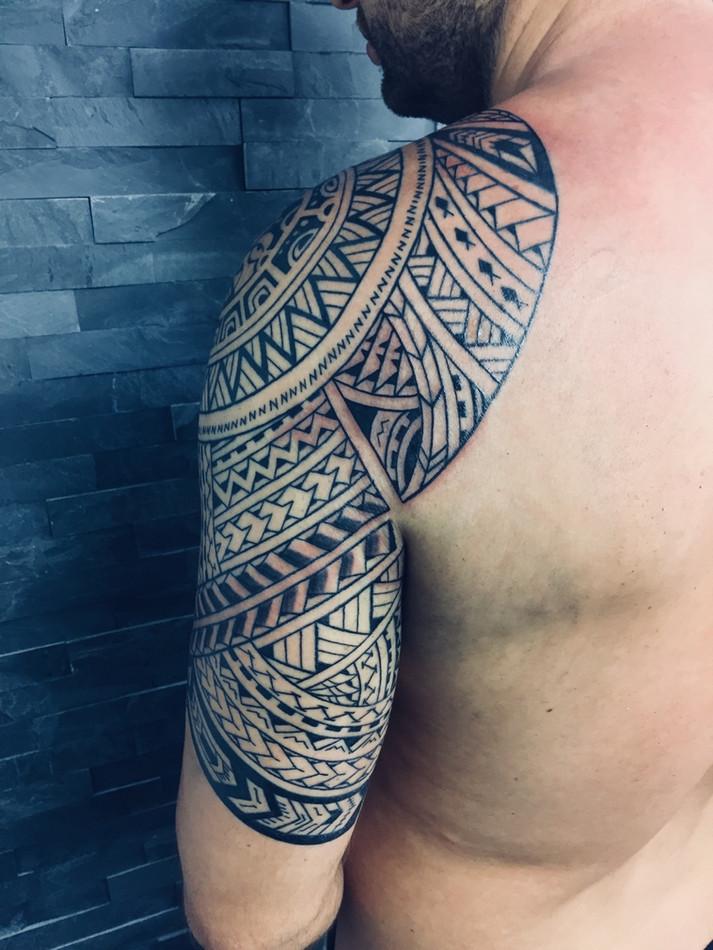 Maori tetování - Tattoo Mija Praha Vršov