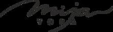 Studio Yoga Mija logo, Praha Vinohrady a Vršovice