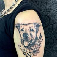Pes tetovani studio Tattoo Mija Praha (5