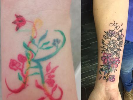 Oprava tetování: Když nejste spokojeni, tak to změňte...