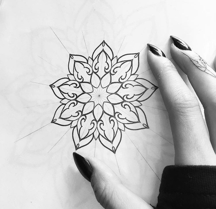 Sketch tetování - Tattoo Mija Praha Vršo