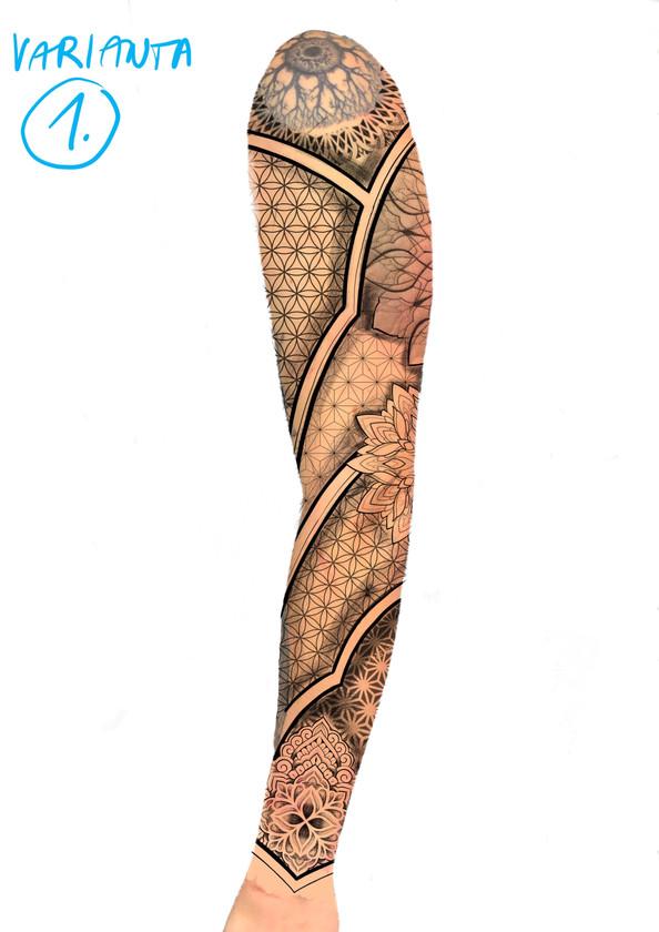 tetování rukáv