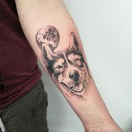 Pes tetovani studio Tattoo Mija Praha (3