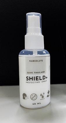 Shield+ สเปรย์เพิ่มประสิทธิภาพหน้ากากผ้า สูตรกันน้ำ