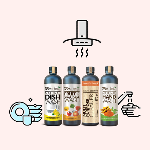 Kitchen Cleaning Kit | 4 x 400ml - Use coupon code FREESHIP to get free shipping