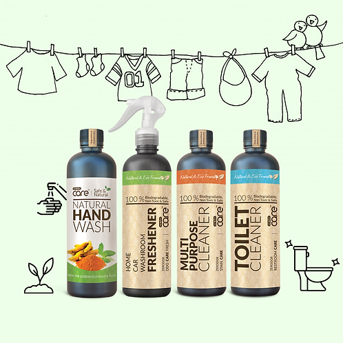 Bathroom Cleaning Kit | 4 x 400ml-Use coupon code FREESHIP to get free shipping