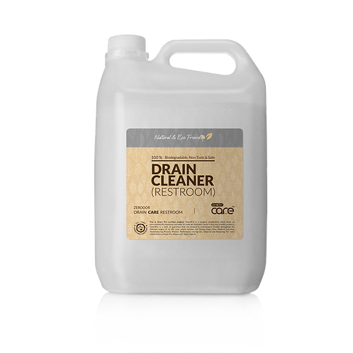 CARE Natural Restroom Drain Cleaner | 5L Pack